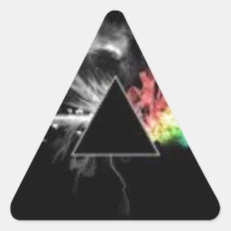 Le meilleur dessus vendant des articles sticker triangulaire