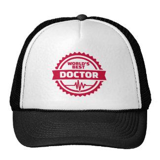 Le meilleur docteur du monde casquettes