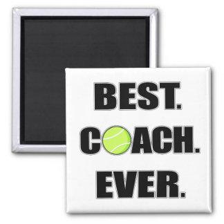 Le meilleur entraîneur de tennis jamais aimant