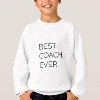 Le meilleur. Entraîneur. Jamais Sweatshirt