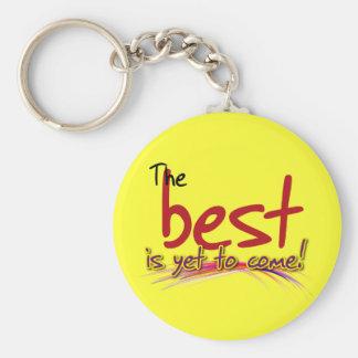 le meilleur est de venir encore porte-clé rond