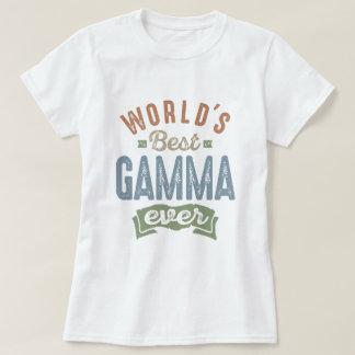Le meilleur gamma t-shirt