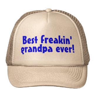 Le meilleur grand-papa de Freakin jamais (bleu) Casquette De Camionneur