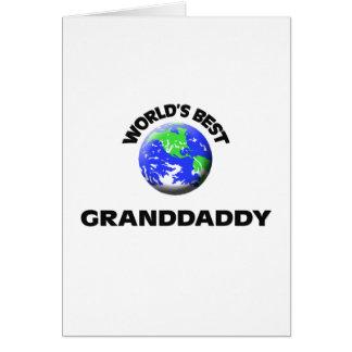 Le meilleur Granddaddy du monde Carte De Vœux