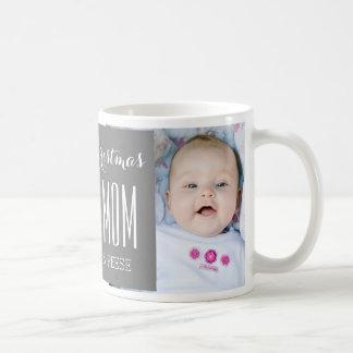 Le meilleur gris de tasse de Noël de maman de
