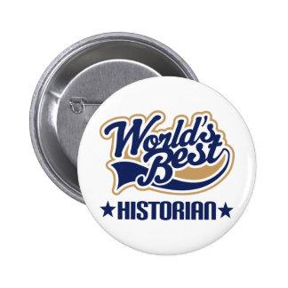 Le meilleur historien des mondes badge