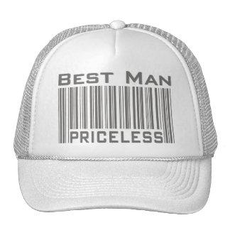 Le meilleur homme inestimable casquette de camionneur