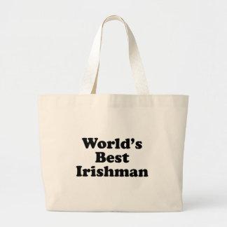 Le meilleur Irlandais du monde Grand Tote Bag