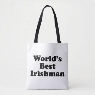 Le meilleur Irlandais du monde Tote Bag