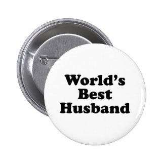 Le meilleur mari de Worl Badge Avec Épingle