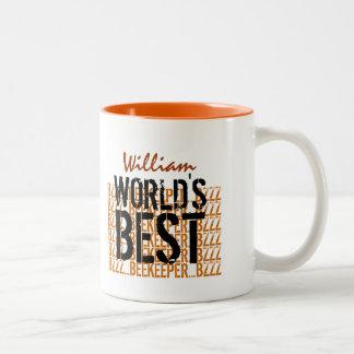 Le meilleur noir W1962 d'or de l'apiculteur du mon Mug À Café