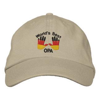 Le meilleur OPA du monde a brodé le casquette