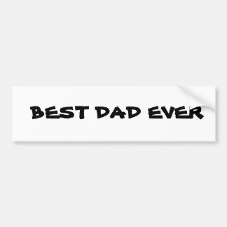 Le meilleur papa autocollant pour voiture