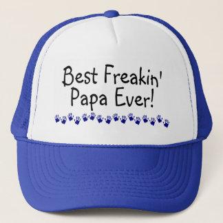 Le meilleur papa de Freakin jamais Casquette