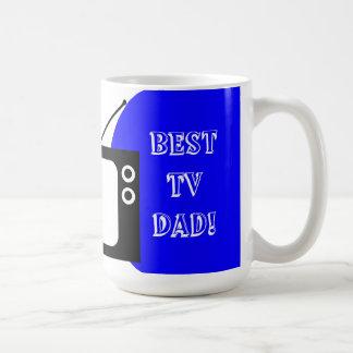 Le meilleur papa de TV ! Mug Blanc