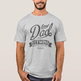 Le meilleur papa des jumeaux pro Dept. Super Dad T-shirt
