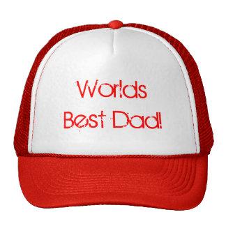 Le meilleur papa des mondes ! casquettes de camionneur