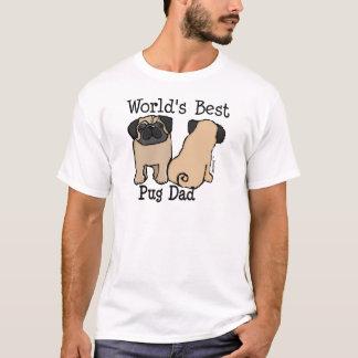 Le meilleur papa du carlin du monde t-shirt
