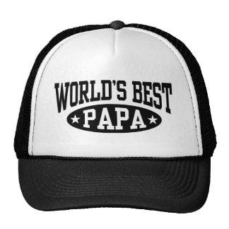 Le meilleur papa du monde casquettes de camionneur