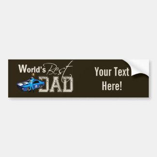 Le meilleur papa du monde ; Emballage Autocollant Pour Voiture