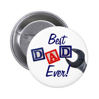 Le meilleur papa jamais ! Bouton (de conception de Badges