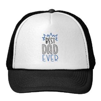 Le meilleur papa jamais casquette trucker