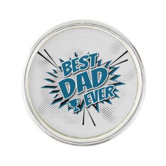 Le meilleur papa jamais épinglette