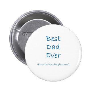 Le meilleur papa jamais pin's