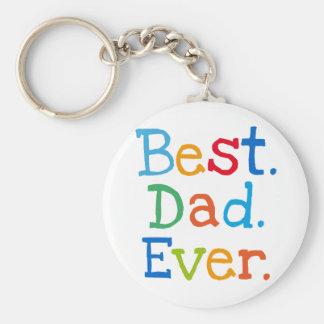 Le meilleur papa jamais porte-clés