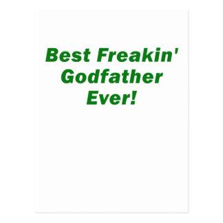 Le meilleur parrain de Freakin jamais Cartes Postales