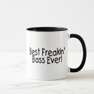 Le meilleur patron de Freakin jamais Mug