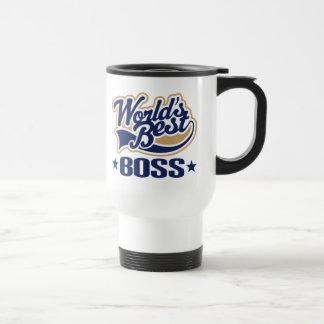 Le meilleur patron des mondes mug de voyage