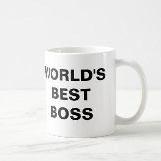 Le meilleur patron du monde mug