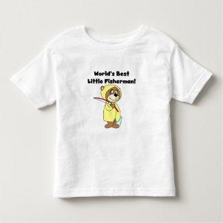 Le meilleur petit pêcheur du monde t-shirt pour les tous petits