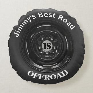 le meilleur pneu de la route 4x4 est TOUS TERRAINS Coussins Ronds