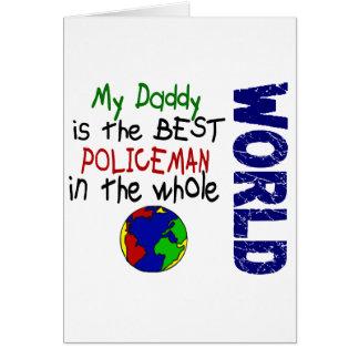 Le meilleur policier en monde 2 (papa) cartes