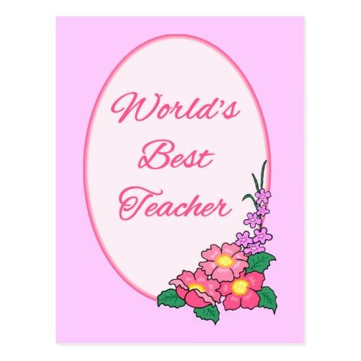 le meilleur professeur du monde carte postale zazzle. Black Bedroom Furniture Sets. Home Design Ideas