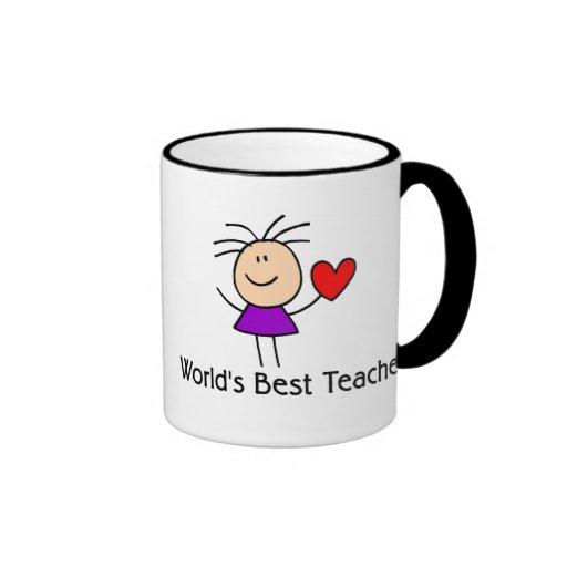 Le meilleur professeur du monde tasse caf zazzle - Tasse a cafe maison du monde ...