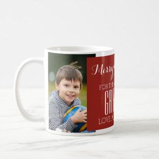 Le meilleur rouge de tasse de Noël de grand-maman