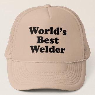 Le meilleur soudeur du monde casquette