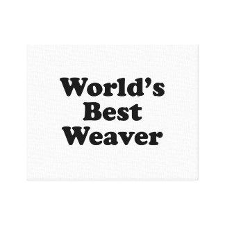 Le meilleur tisserand du monde toile