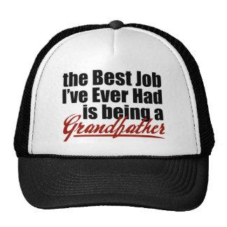 Le meilleur travail est un grand-père casquette