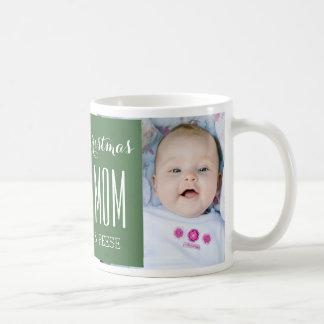 Le meilleur vert de tasse de Noël de maman de