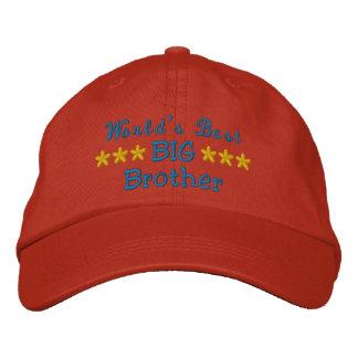 Le meilleure frère ou soeur ou papa etc. du monde casquette brodée