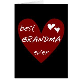 Le meilleurs T-shirts et cadeaux de grand-maman de Carte De Vœux