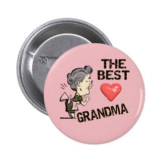 Le meilleurs T-shirts et cadeaux de grand-maman po Badges