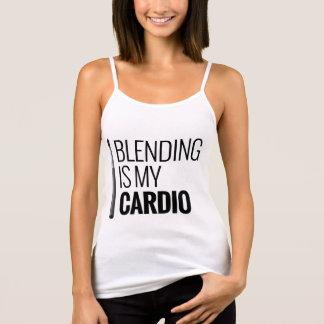 Le mélange est mon cardio- - T-shirt de maquilleur