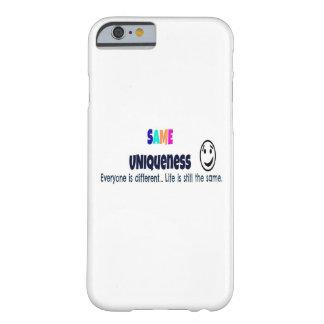 Le même cas de l'iPhone 6 d'unicité Coque iPhone 6 Barely There