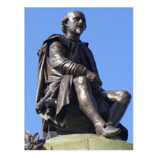 Le mémorial de Gower à William Shakespeare Cartes Postales