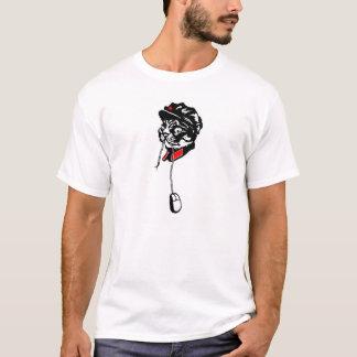 Le Meow de Président est T-shirt affamé
